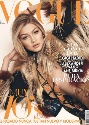 Gigi Hadid - Vogue Spain Cover (March 2015)
