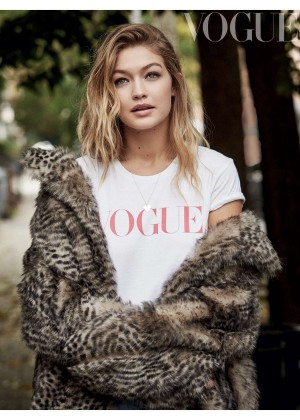 Gigi Hadid - Vogue UK Magazine (January 2016)