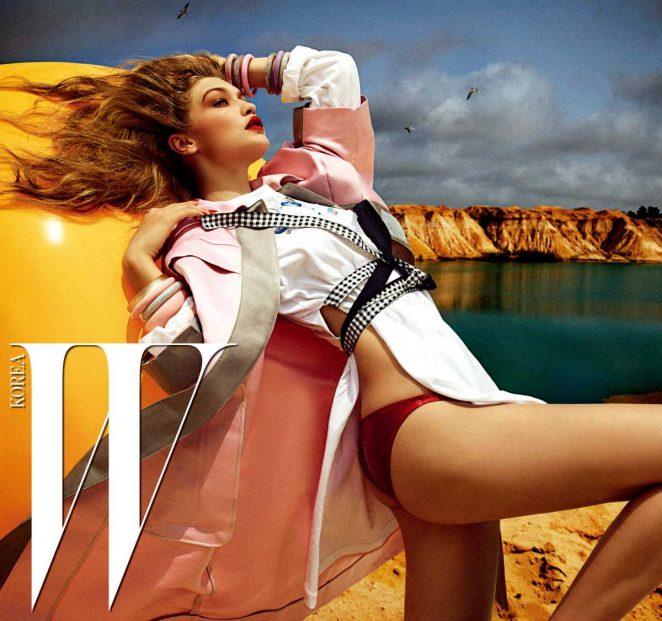 Gigi Hadid - W Korea Magazine (December 2016)