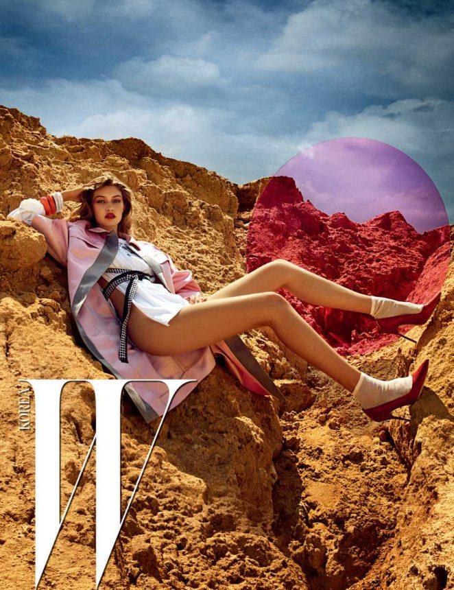 Gigi Hadid: W Korea 2016 -06