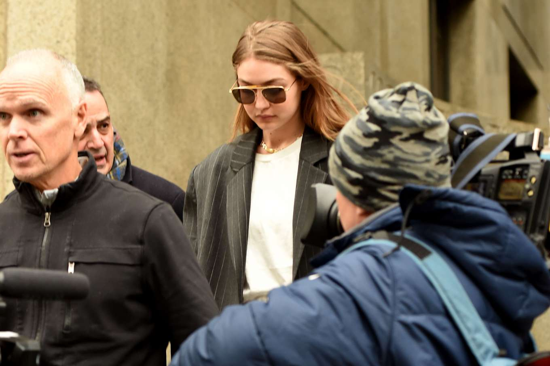 Gigi Hadid 2020 : Gigi Hadid – Walks out of Manhattan Criminal Court in New York-04