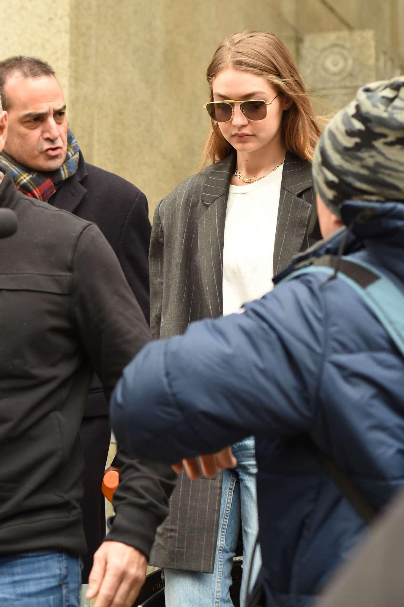 Gigi Hadid 2020 : Gigi Hadid – Walks out of Manhattan Criminal Court in New York-07