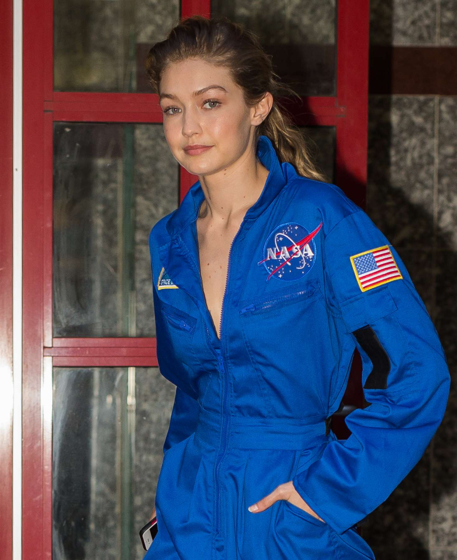 nasa jumpsuit blue - photo #44