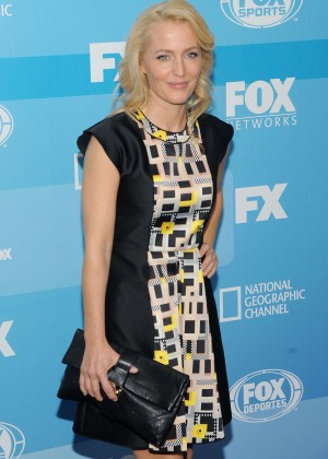 Gillian Anderson - 2015 FOX Programming Presentation in NYC
