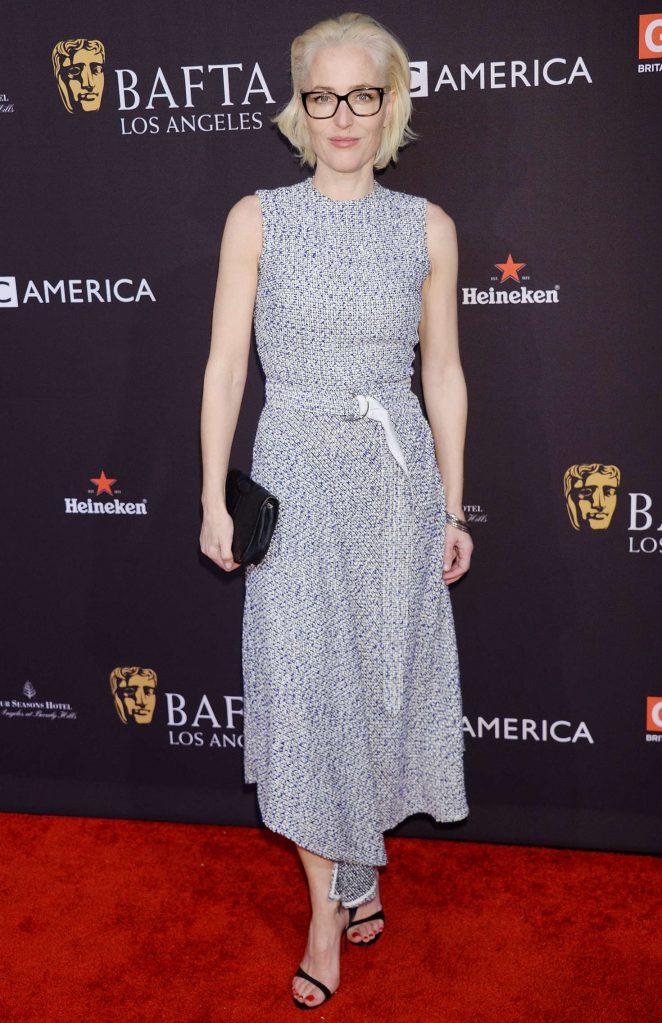 Gillian Anderson – 2018 BAFTA Los Angeles Tea Party in Los Angeles