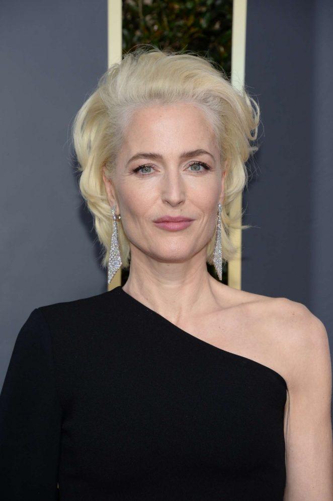 Gillian Anderson – 2018 Golden Globe Awards in Beverly Hills