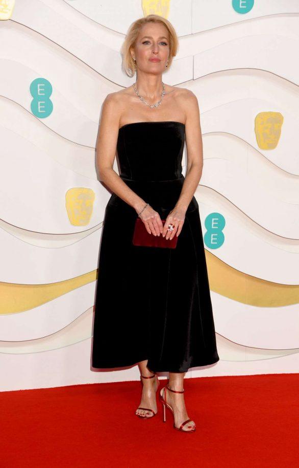 Gillian Anderson - 2020 British Academy Film Awards in London