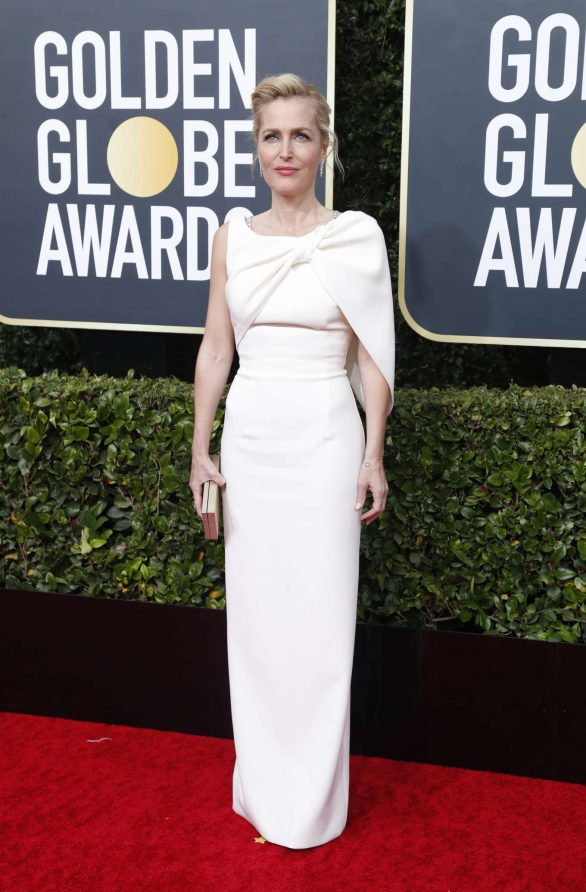 Gillian Anderson - 2020 Golden Globe Awards in Beverly Hills