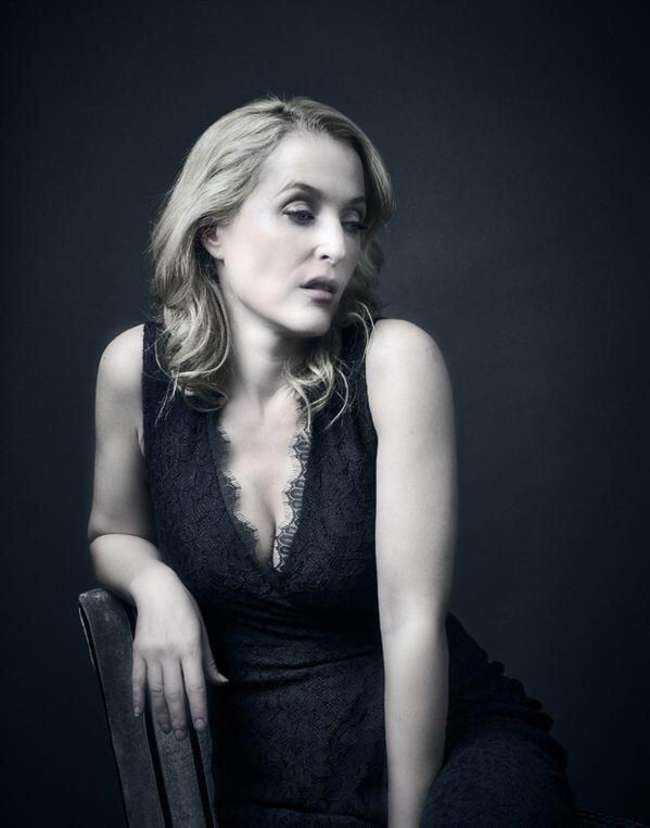 Gillian Anderson - Andy Gotts Photoshoot (September 2015)