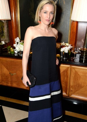Gillian Anderson - Avedon by Dior Party in London