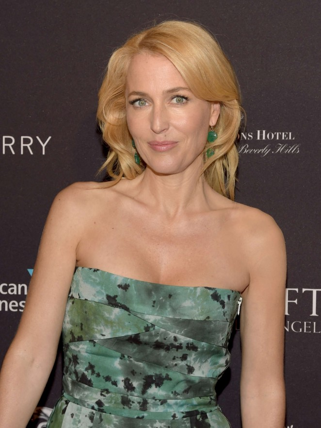Gillian Anderson - 2015 BAFTA Los Angeles Tea Party in Beverly Hills