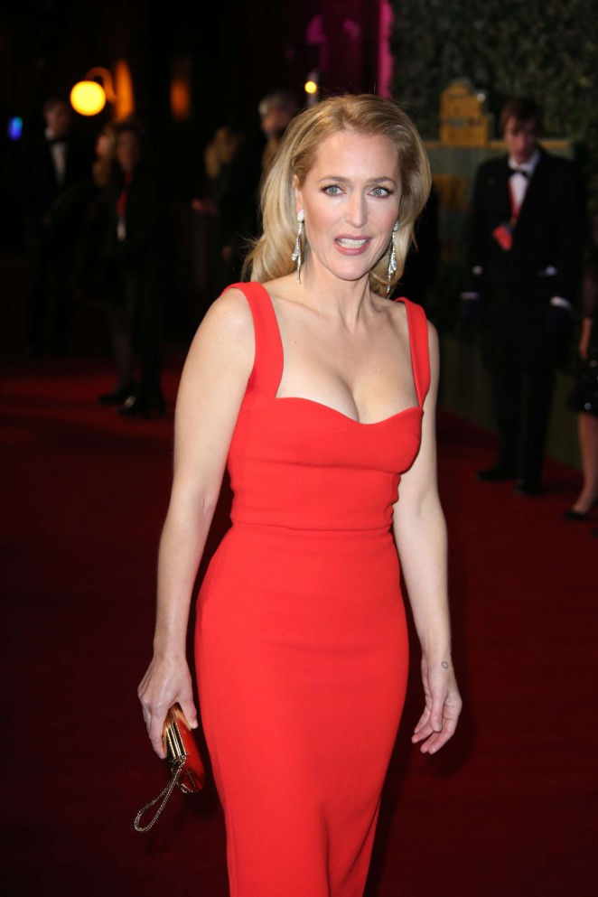 Gillian Anderson - Evening Standard Theatre Awards 2015 in London
