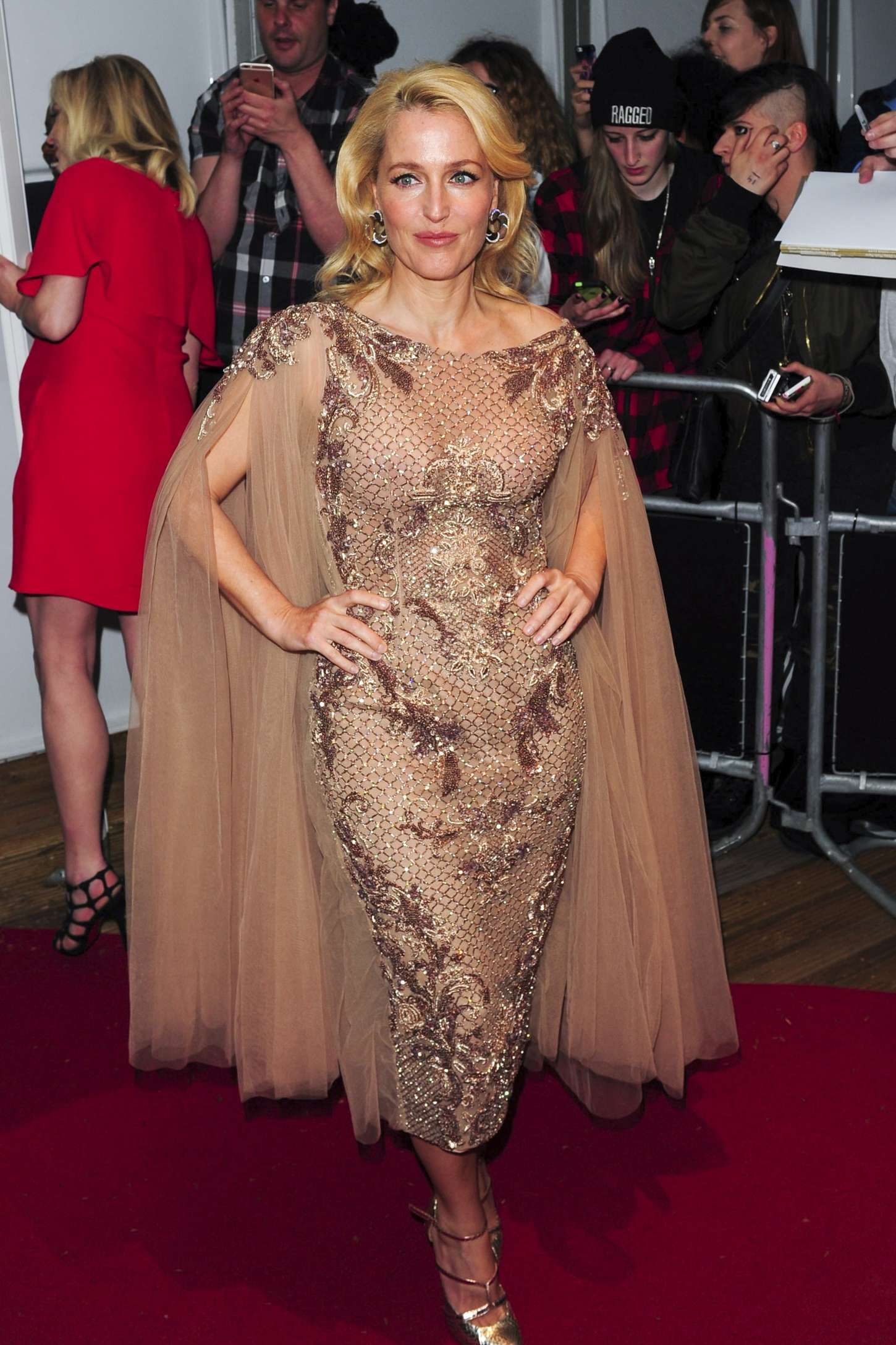 Gillian Anderson - 2015 Glamour Women Of The Year Awards in London