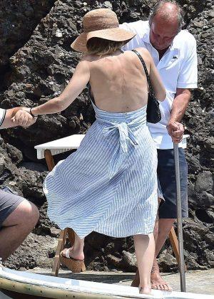 gillian anderson in bikini in portofino � gotceleb