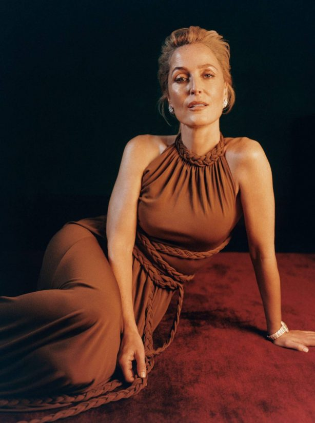 Gillian Anderson - InStyle Magazine (March 2021)