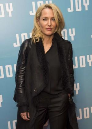 Gillian Anderson - 'Joy' Screening in London