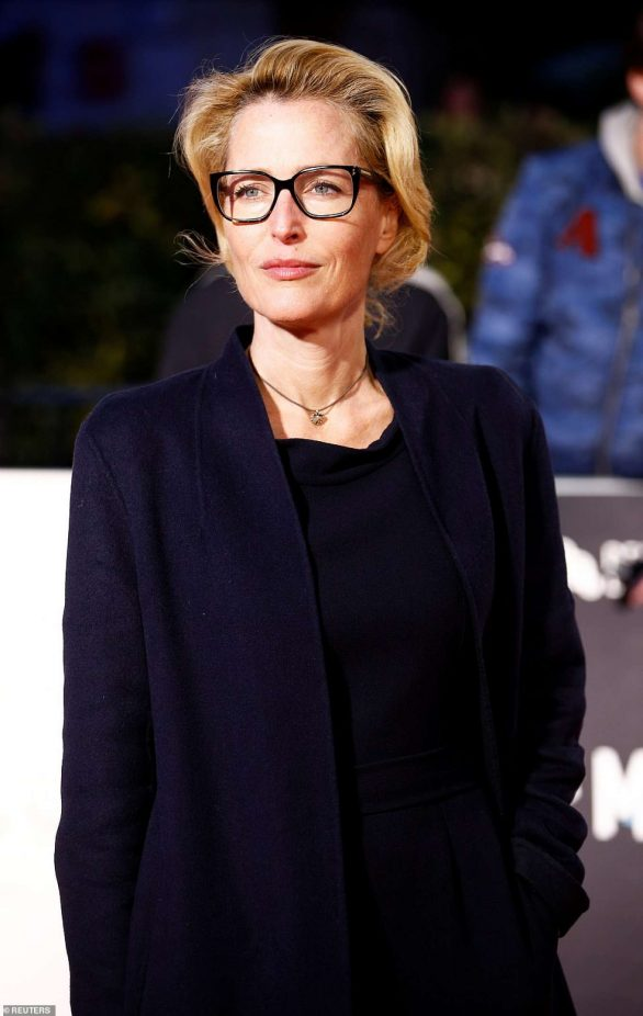Gillian Anderson - 'Marriage story' Premiere in London