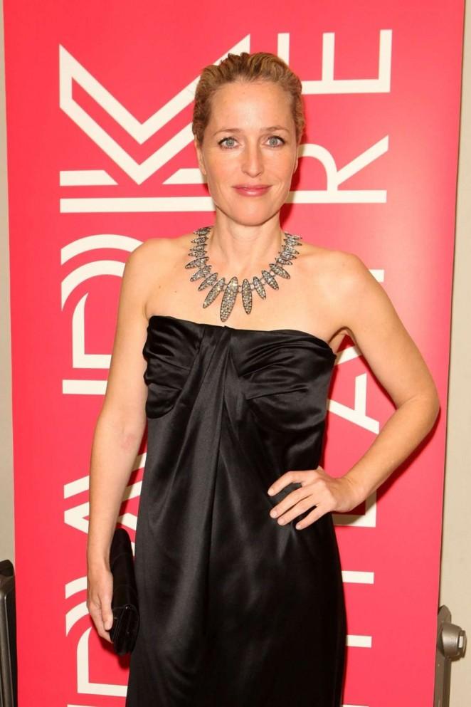 Gillian Anderson – Park Theatre Annual Gala Dinner in London