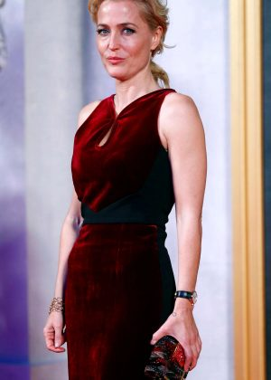 Gillian Anderson - 'The Crown' Premiere in London