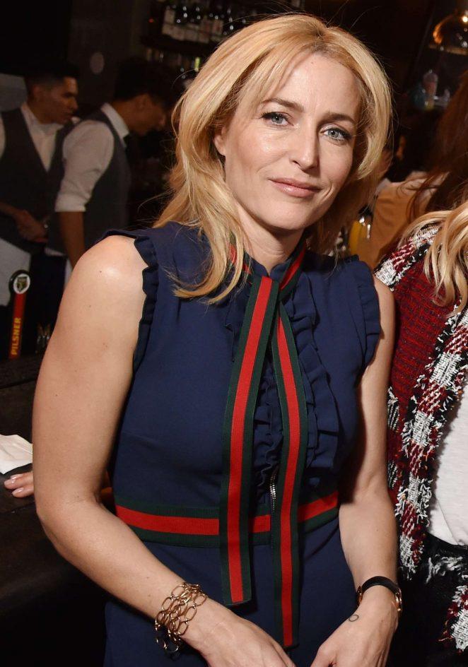 Gillian Anderson - The Tribeca Chanel Women's Filmmaker Program Luncheon in NY