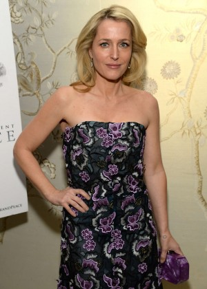 Gillian Anderson - The Weinstein Company 'War And Peace' Screening in West Hollywood
