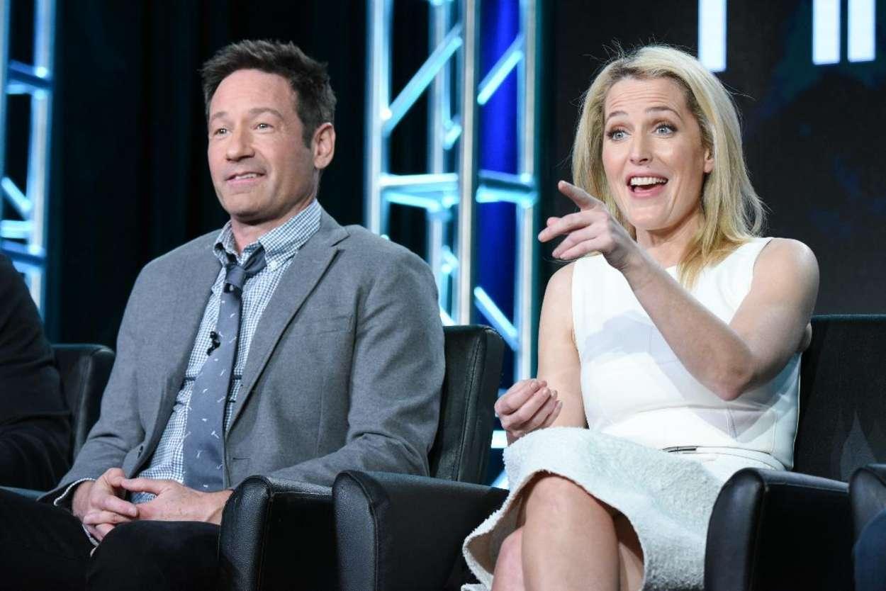Gillian Anderson - 'The X Files' panel at the Fox Winter TCA 2016 in Pasadena