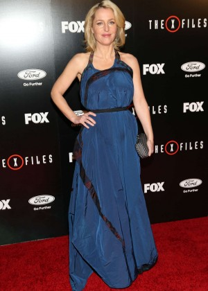 Gillian Anderson - 'The X-Files' Premiere in LA