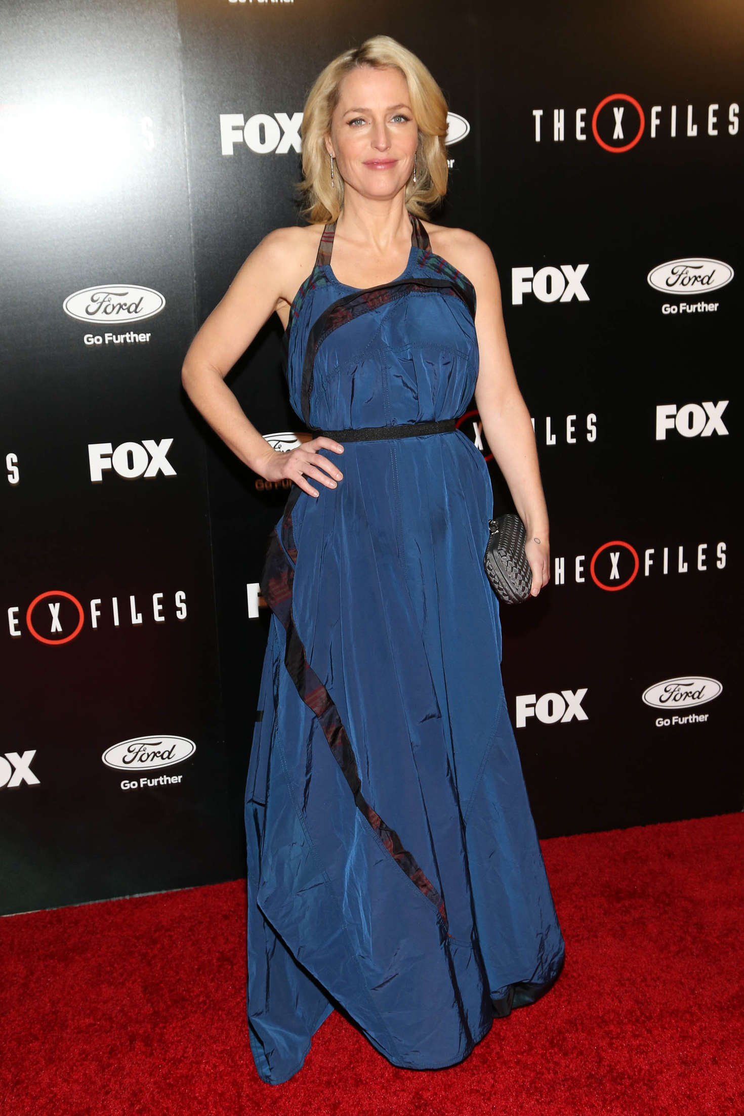 Gillian Anderson - 'The X-Files' Premiere in LA