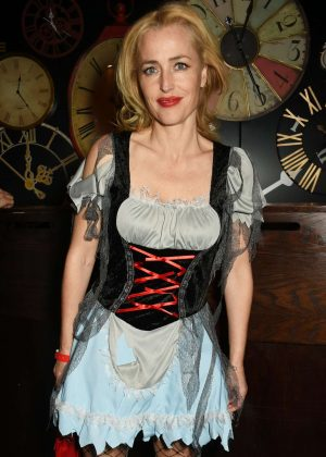 Gillian Anderson - Unicef UK Halloween Ball in London