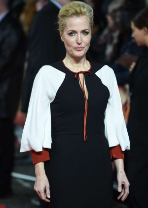 Gillian Anderson - 'Viceroy's House' Premiere in London