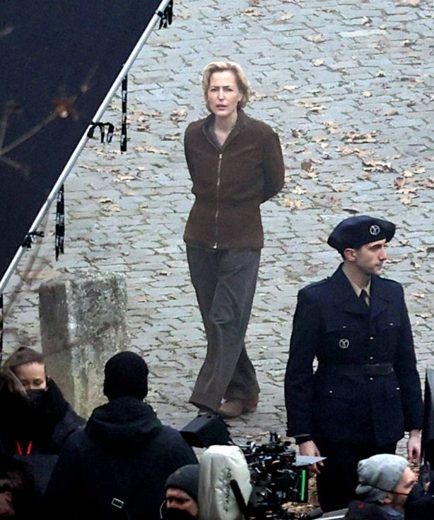 Gillian Anderson - 'White Bird: A Wonder Story' movie set in the Czech Republic