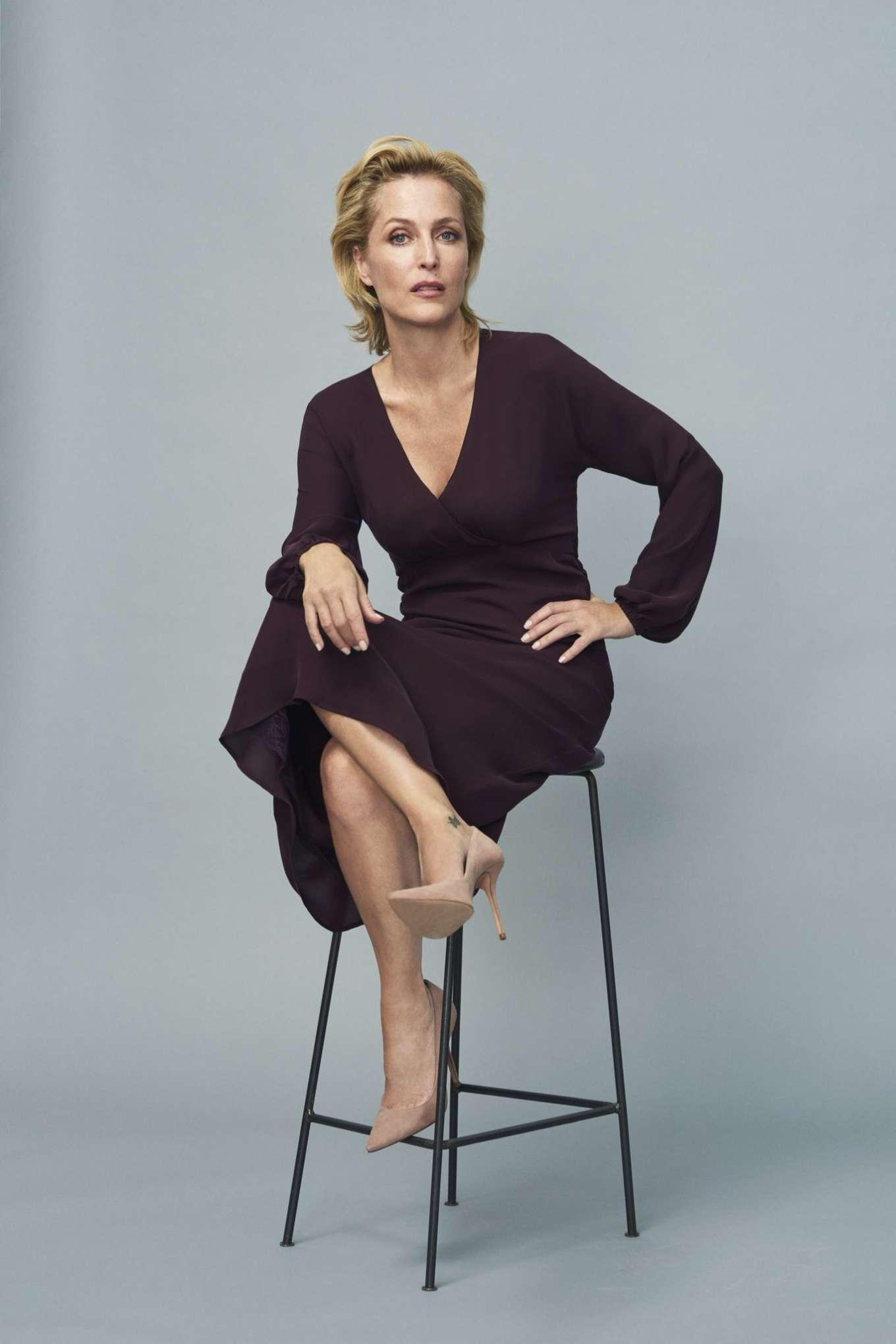 Gillian Anderson 2019 : Gillian Anderson – Winser London Collection photoshoot-01