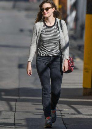 Gillian Jacobs - Arriving at Jimmy Kimmel Live! in LA