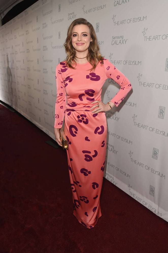 Gillian Jacobs - Art Of Elysium 8th Annual Heaven Gala in Los Angeles
