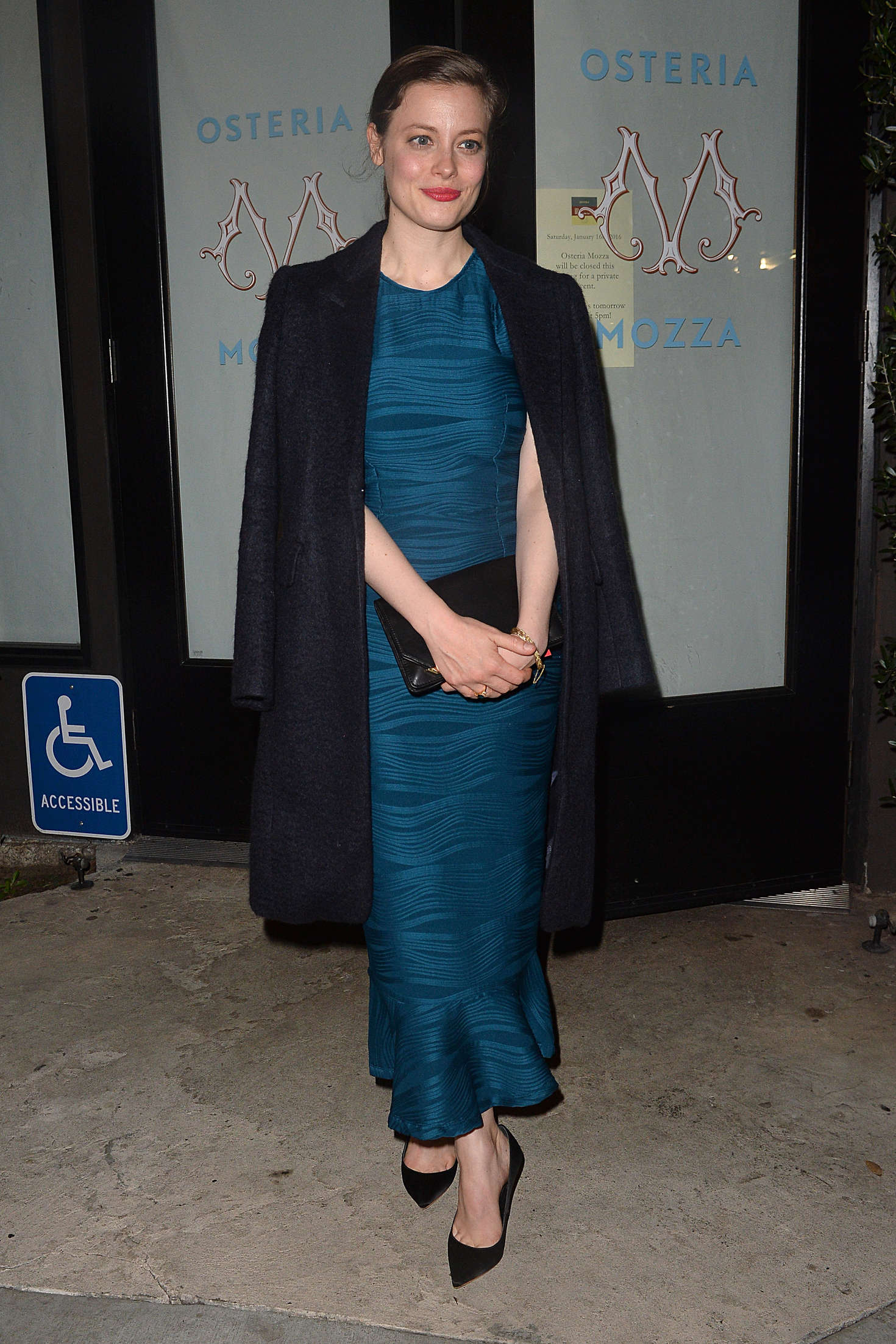 Gillian Jacobs Leaves an LA Film Critics Party in Hollywood
