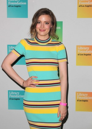 Gillian Jacobs - Young Literati of The Library Foundation 7th Annual Toast in LA