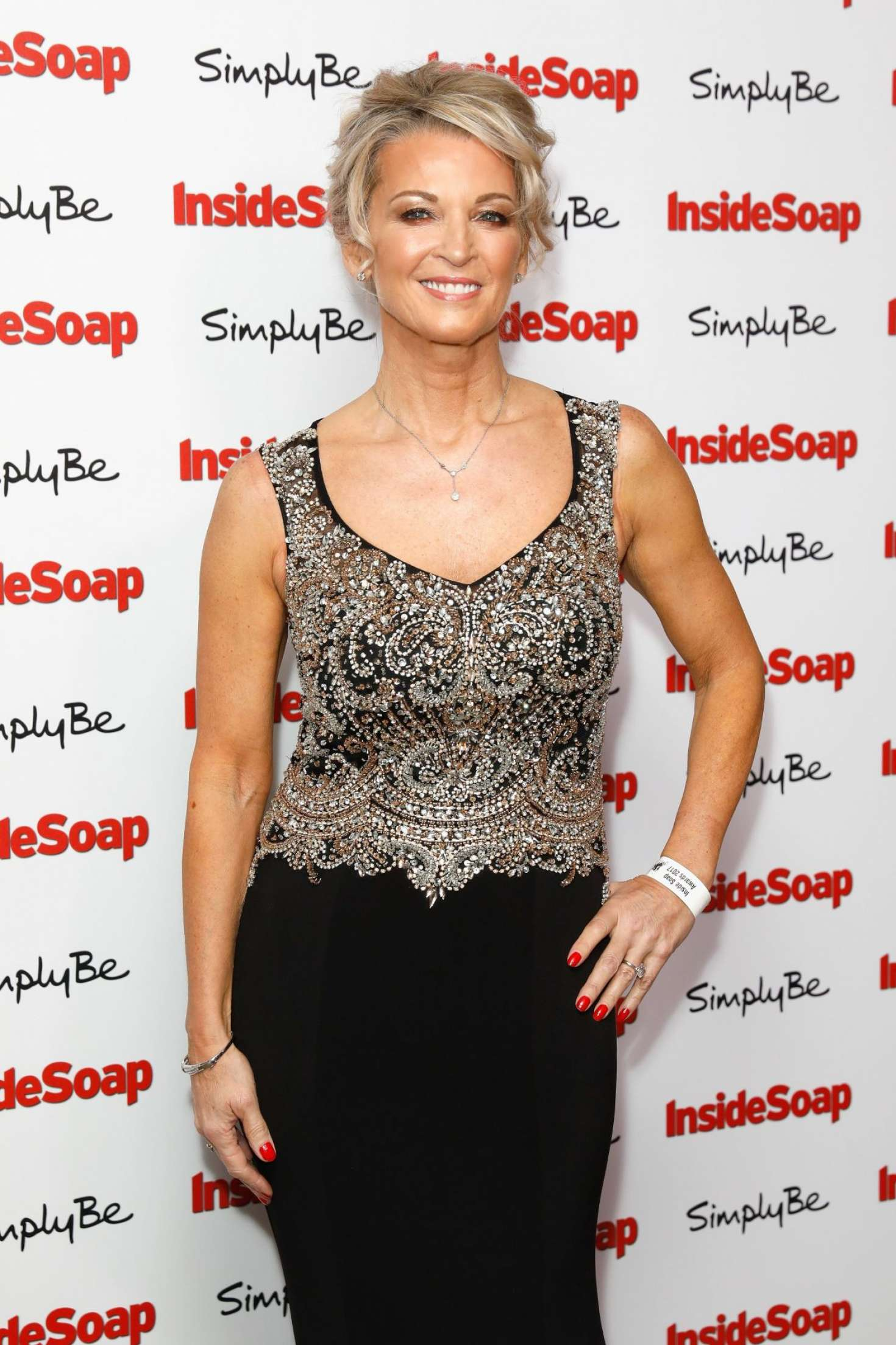 Gillian Taylforth - 2017 Inside Soap Awards in London