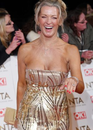 Gillian Taylforth - 2017 National Television Awards in London