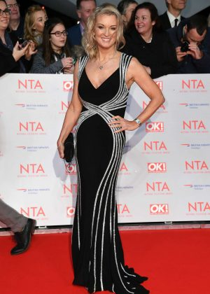 Gillian Taylforth - National Television Awards 2018 in London