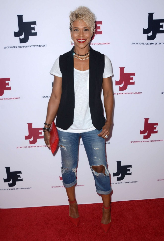 Gillian White - Je'Caryous Johnson's Married But Single Opening in LA