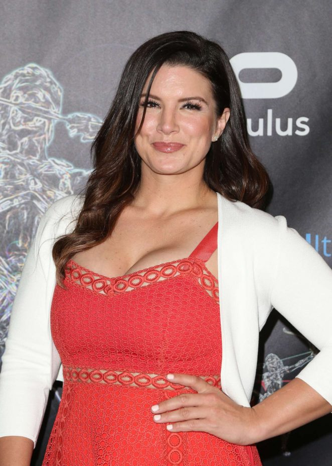 Gina Carano – Artemis Women in Action Film Festival Opening Night Gala in Beverly Hills