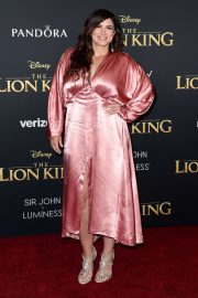 Gina Carano - 'The Lion King' Premiere in Hollywood