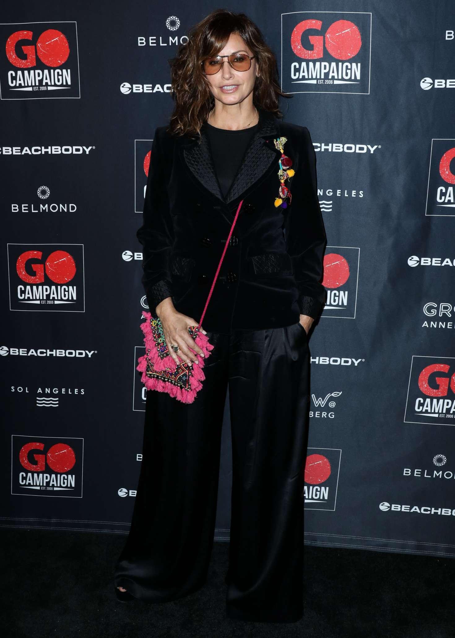 Gina Gershon 2018 : Gina Gershon: 2018 GO Campaign Gala -01