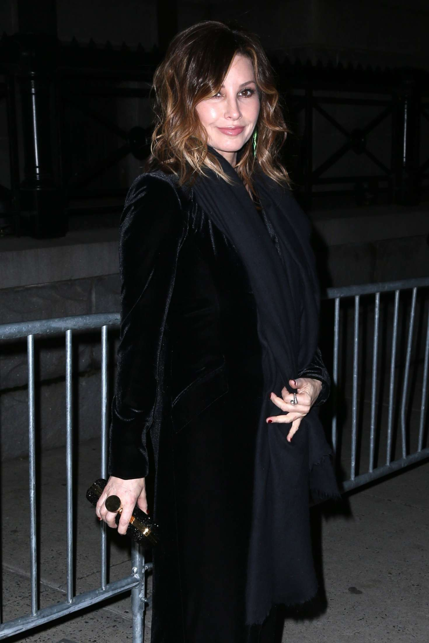 Gina Gershon - Arrives at Tom Ford Fashion Show in New York