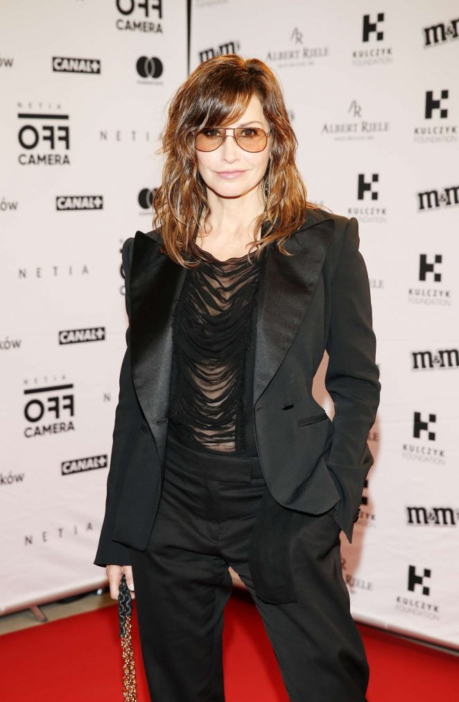 Gina Gershon – During Netia Off Camera in Krakow