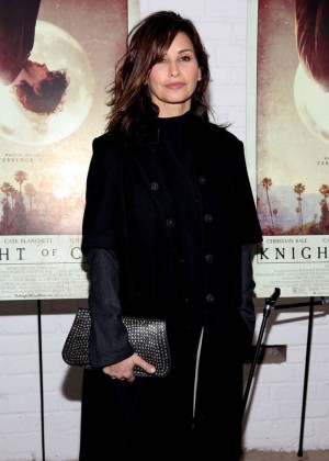 Gina Gershon - 'Knight of Cups' Screening in NYC