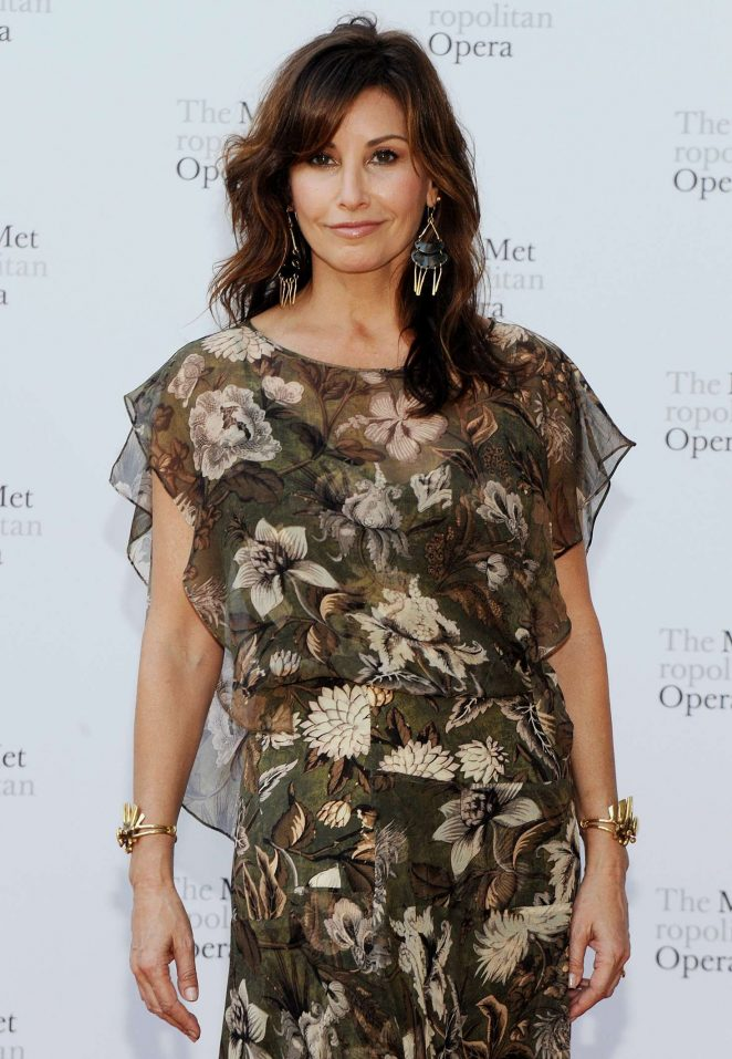 Gina Gershon – Metropolitan Opera Opening Night Gala in New York