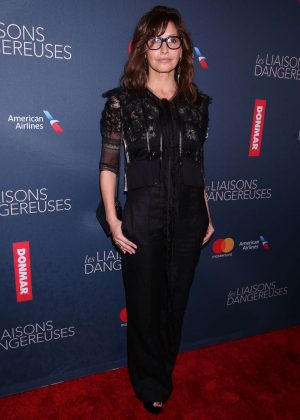 Gina Gershon - Opening night of Les Liaisons Dangereuses in New York