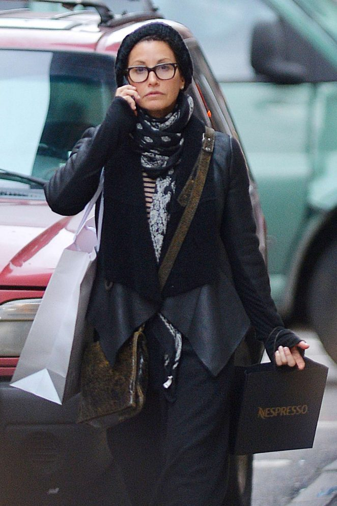 Gina Gershon out shopping in New York
