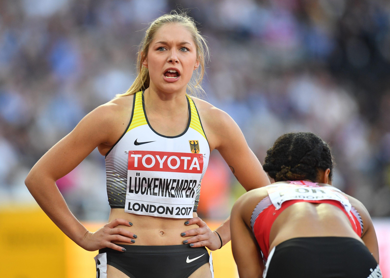 Gina Luckenkemper: 100 m semi-final at 2017 IAAF World